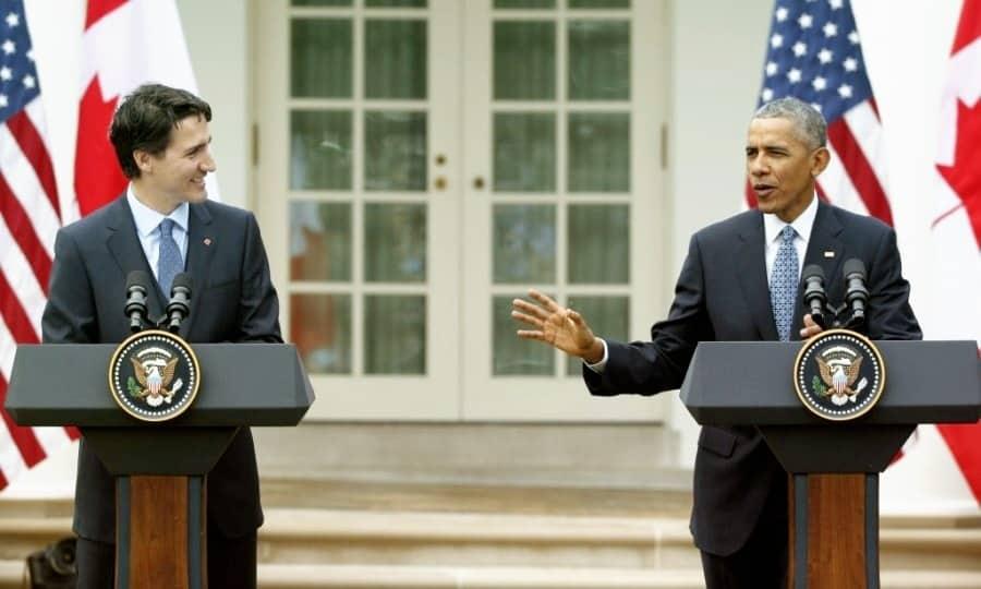 President Barack Obama in Canada